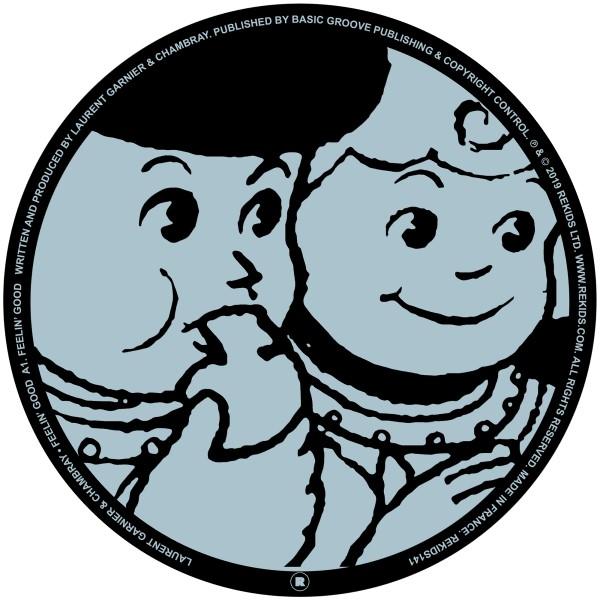 "Laurent Garnier/FEELIN' GOOD (CLEAR) 12"""