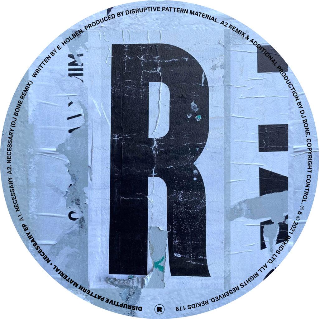 """D.P.M./NECESSARY EP 12"""""""