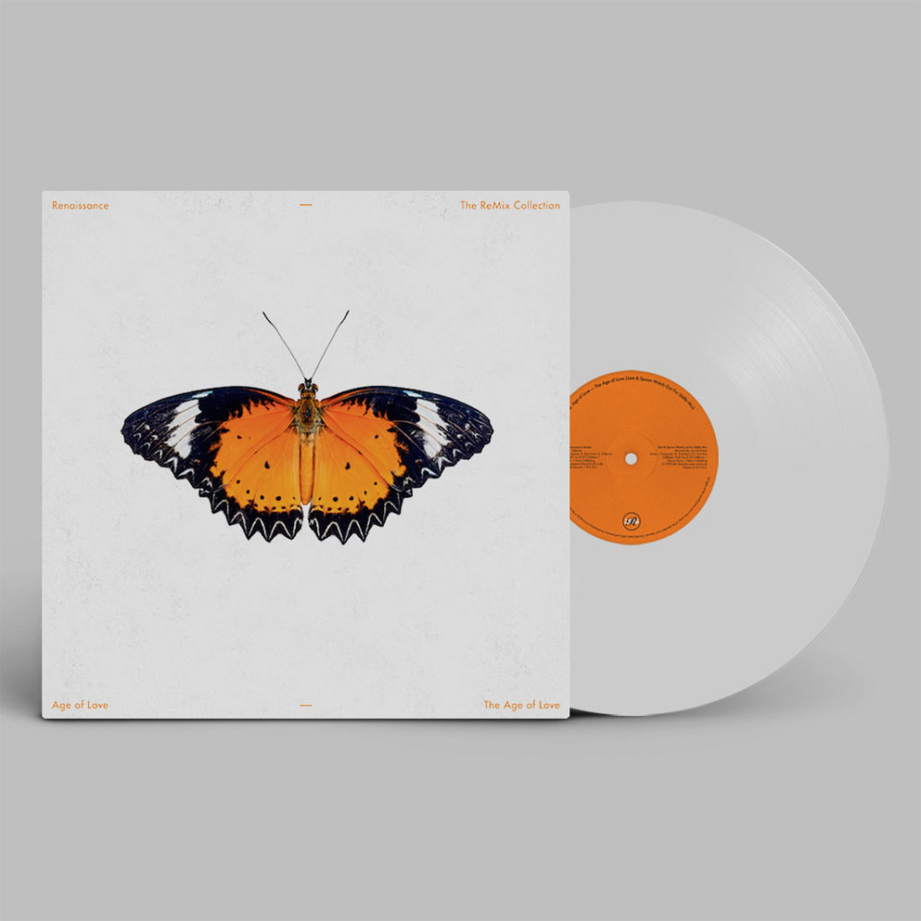 """Age Of Love/THE AGE OF LOVE (WHITE) 12"""""""