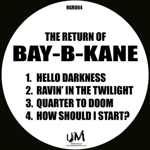 "Bay-B-Kane/THE RETURN OF BAY-B-KANE 12"""