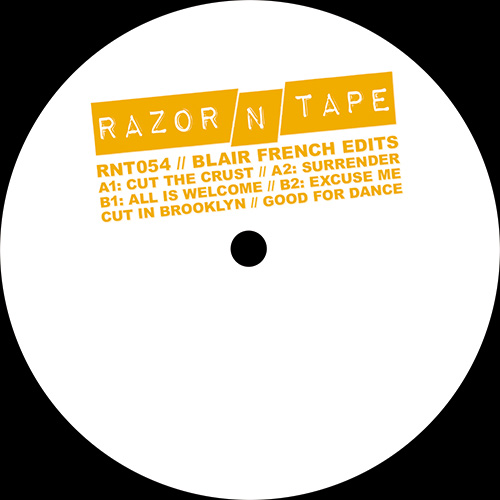 "Blair French/RAZOR-N-TAPE EDITS 12"""