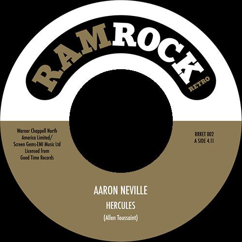 """Aaron Neville/HERCULES 7"""""""