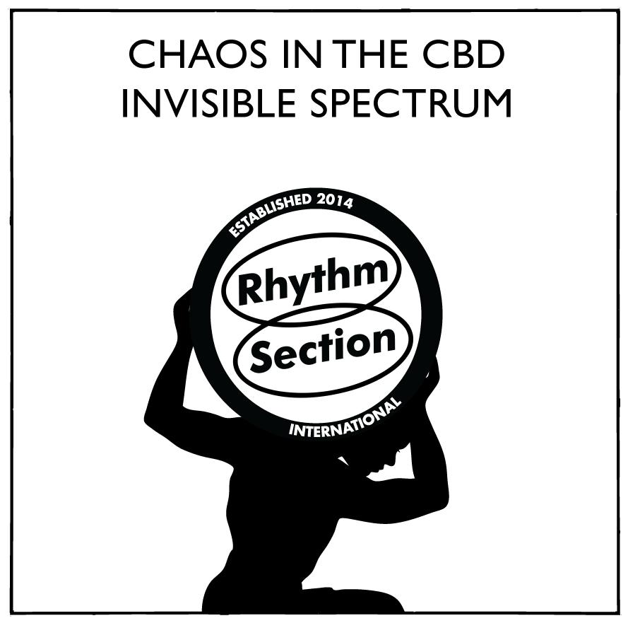 "Chaos In The CBD/INVISIBLE SPECTRUM 12"""