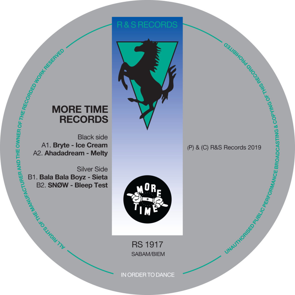 """Various/R&S: MORE TIME RECORDS VOL 1 12"""""""