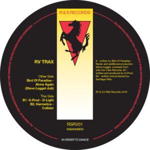 "Various/RV TRAX VOL 1 12"""