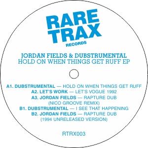 """Jordan Fields/HOLD ON WHEN THINGS...12"""""""