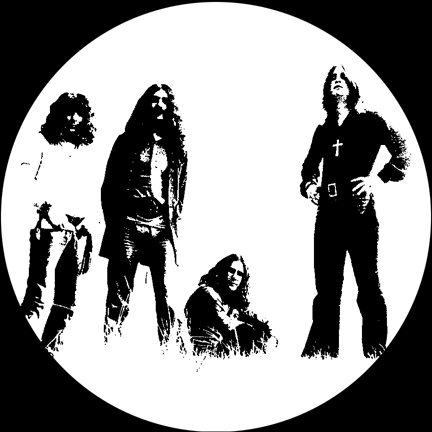 Black Sabbath/GLOW SLIPMAT