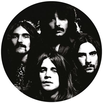 Black Sabbath/GROUP PHOTO SLIPMAT