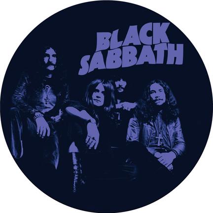 Black Sabbath/PURPLE SLIPMAT