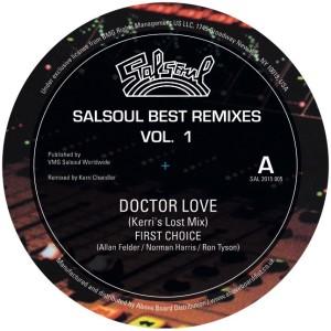 "Various/SALSOUL BEST REMIXES VOL. 1 12"""
