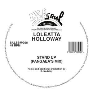 "Loleatta Holloway/STAND UP-PANGAEA 12"""
