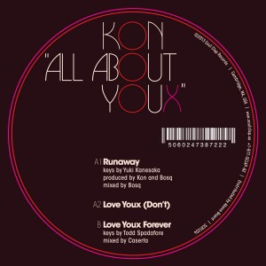 """Kon/ALL ABOUT YOUX 12"""""""