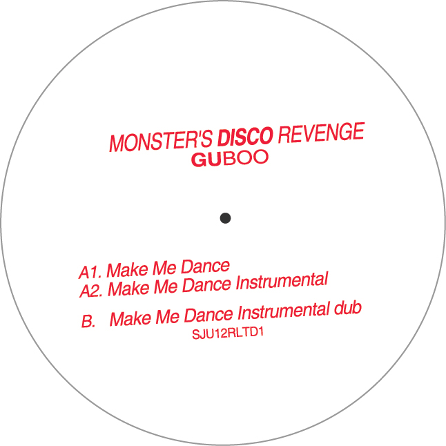 GUBoo/MONSTER'S DISCO REVENGE 12""