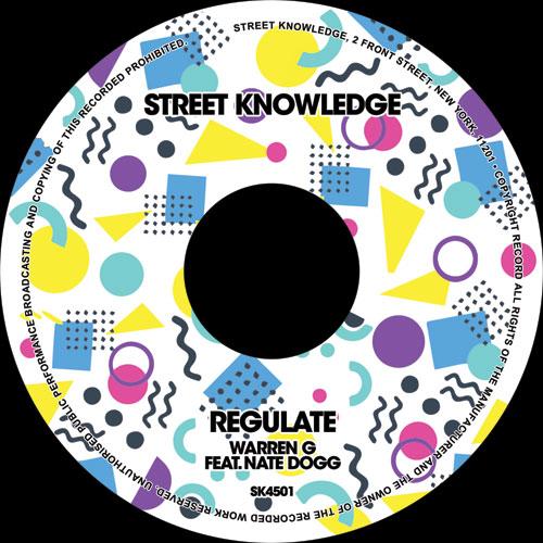 """Warren G ft. Nate Dogg/REGULATE 7"""""""