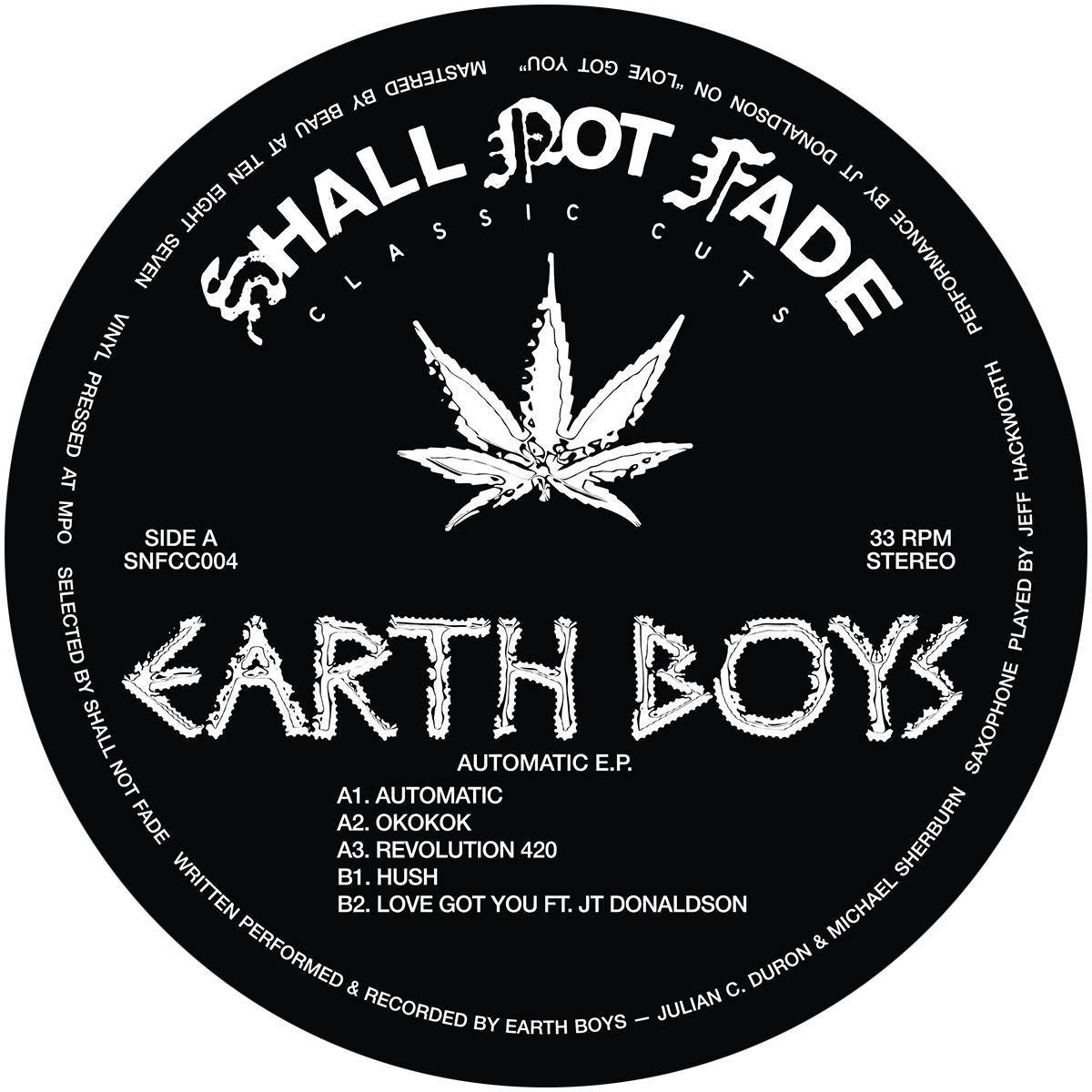 "Earth Boys/AUTOMATIC EP 12"""