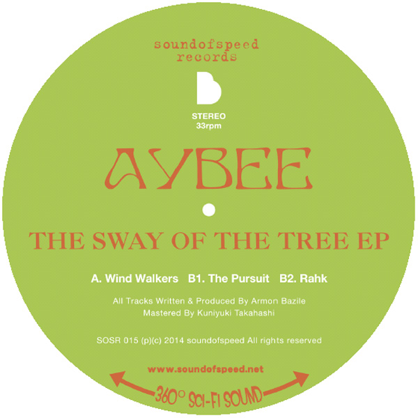 """Aybee/THE SWAY OF THE TREE 12"""""""