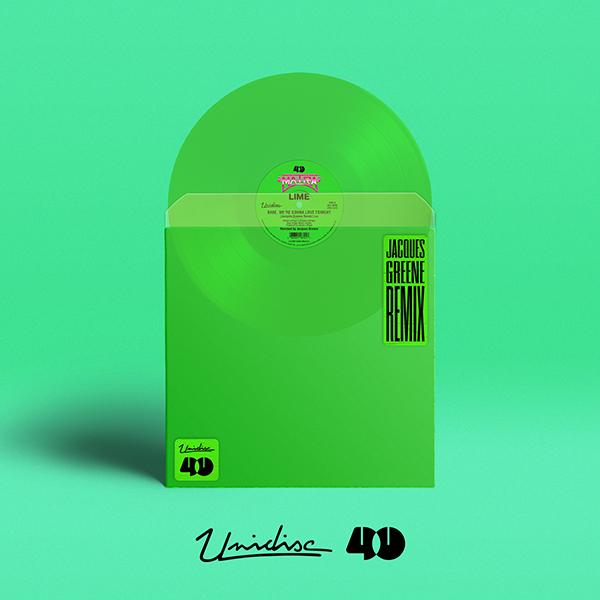 "Lime/BABE... (JACQUES GREENE REMIX) 12"""