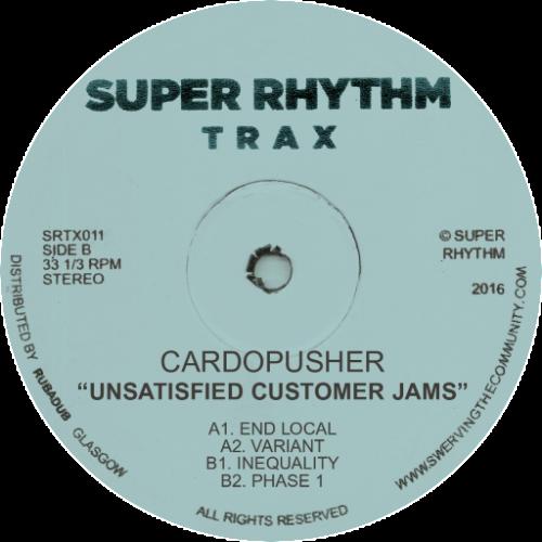 "Cardopusher/UNSATISFIED CUSTOMER... 12"""