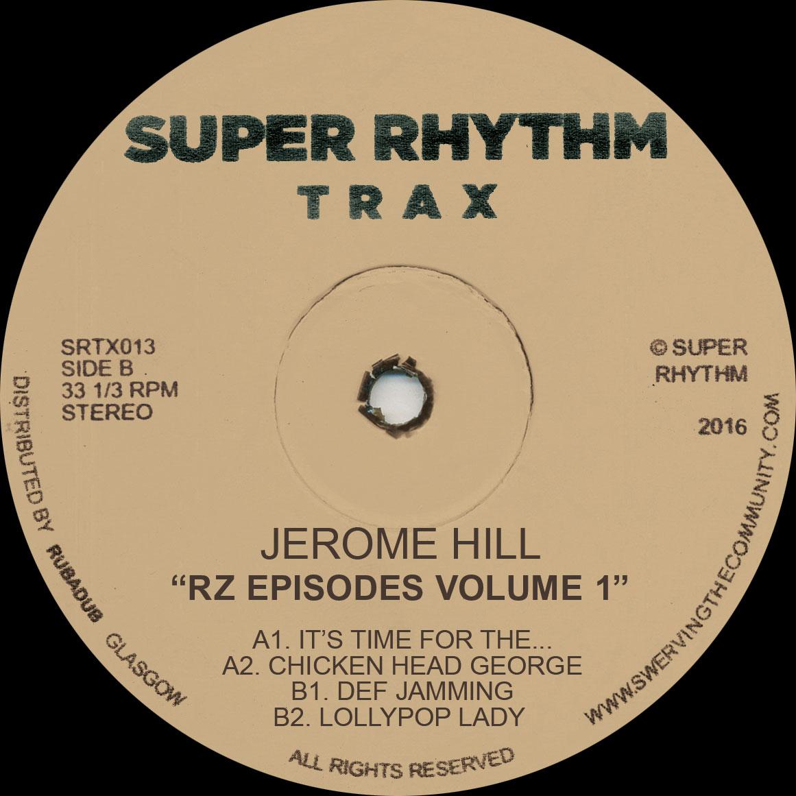 "Jerome Hill/RZ EPISODES VOL 1 12"""