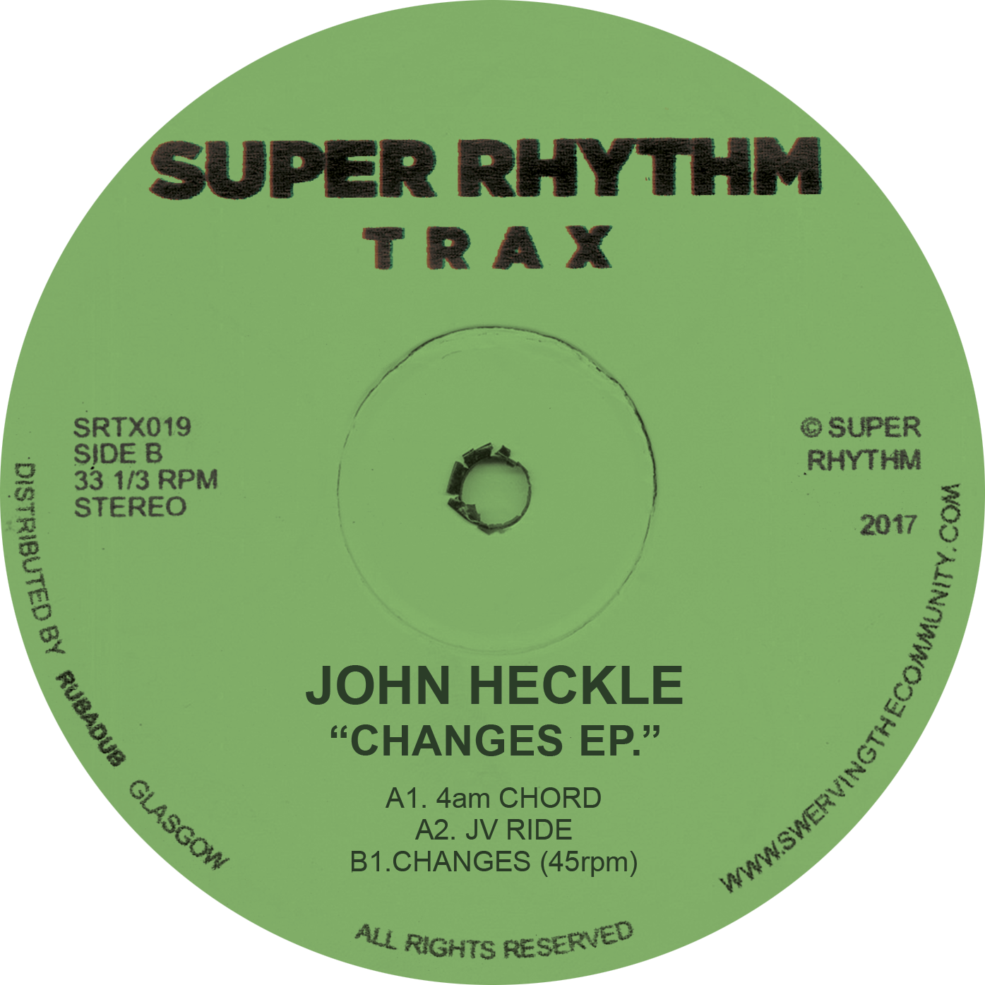 John Heckle/CHANGES EP 12""