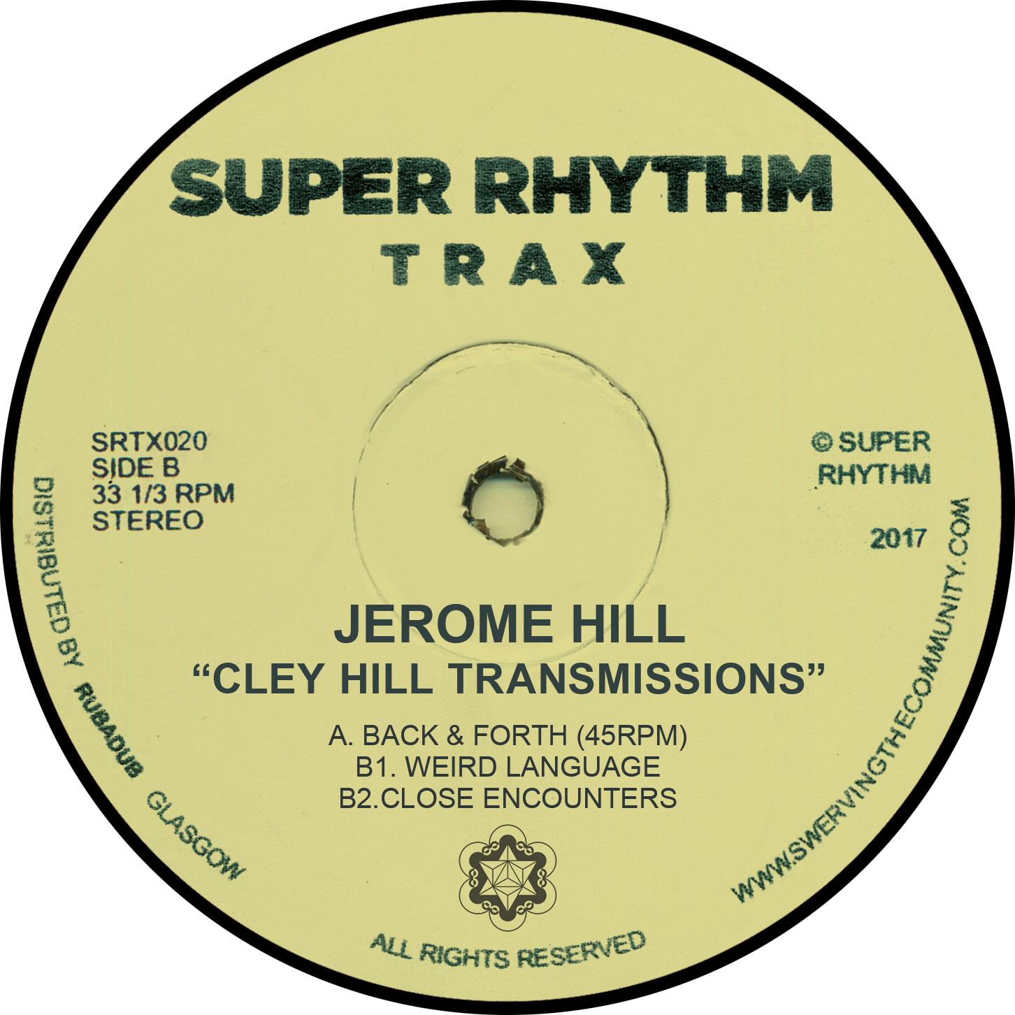 """Jerome Hill/CLEY HILL TRANSMISSIONS 12"""""""