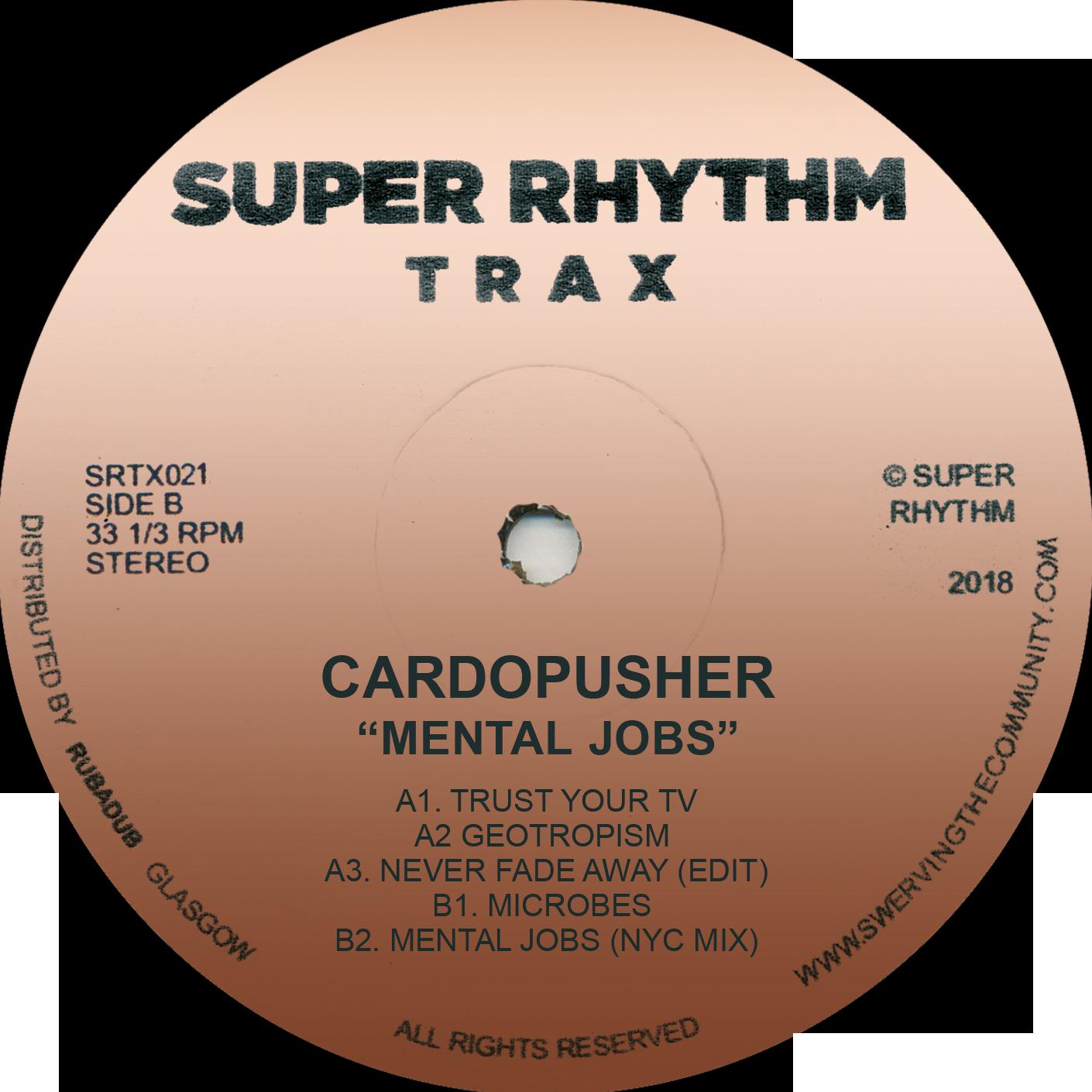 "Cardopusher/MENTAL JOBS EP 12"""