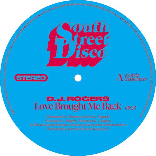 "D.J. Rogers/LOVE BROUGHT ME BACK 12"""