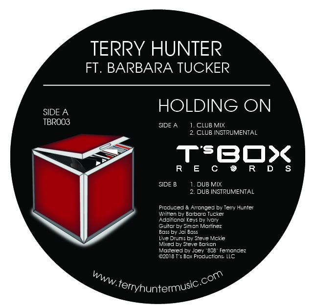 """T Hunter & Barbara Tucker/HOLDING ON 12"""""""