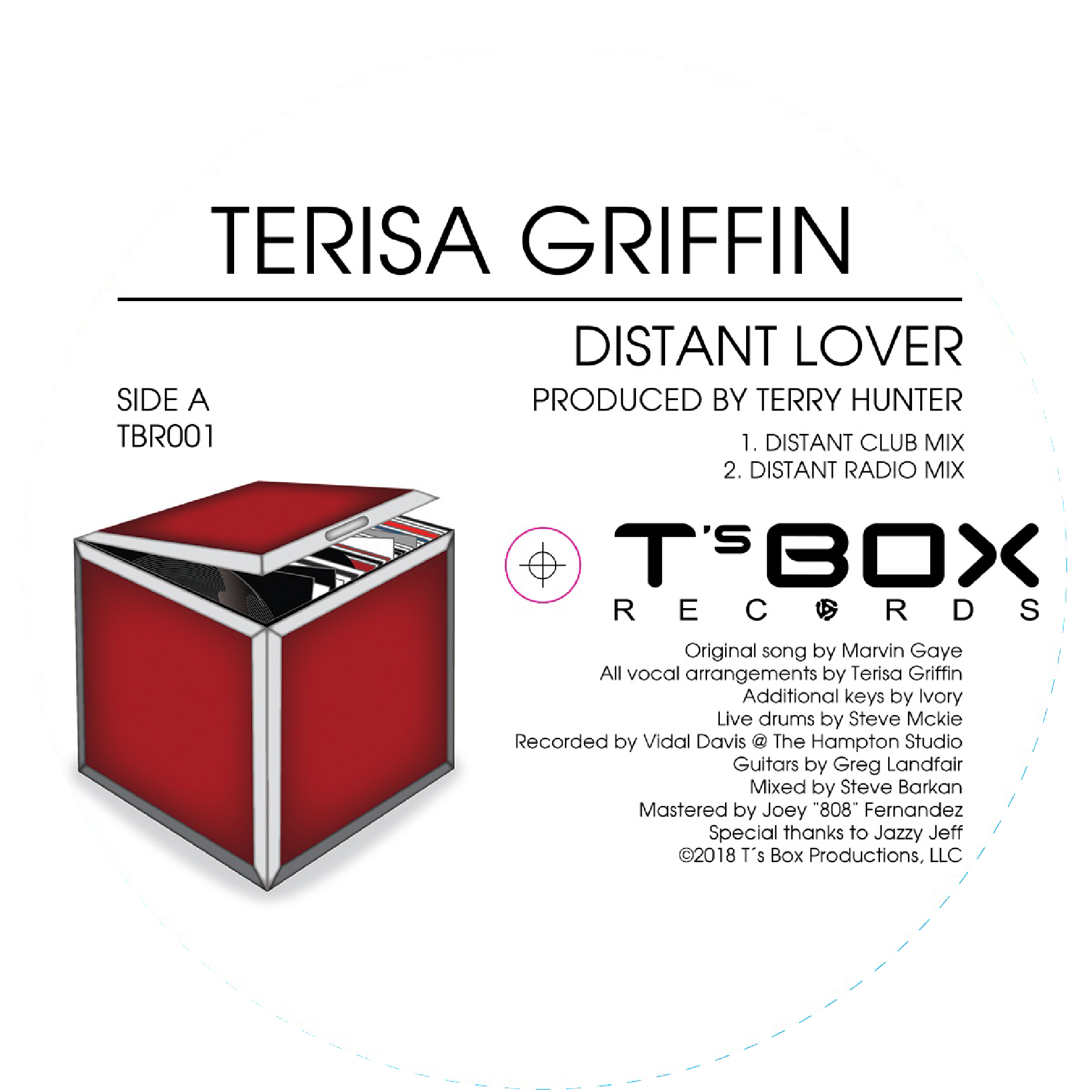 """Terisa Griffin/DISTANT LOVER 12"""""""