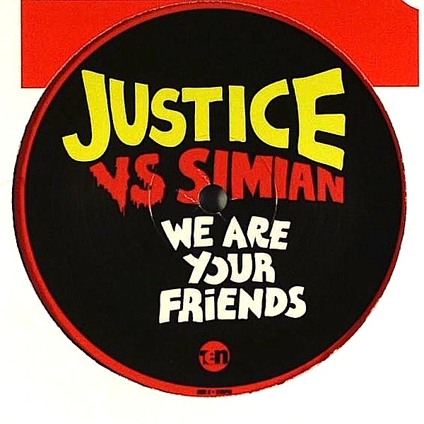 """Justice vs Simian/WE ARE YOUR REMIX 12"""""""
