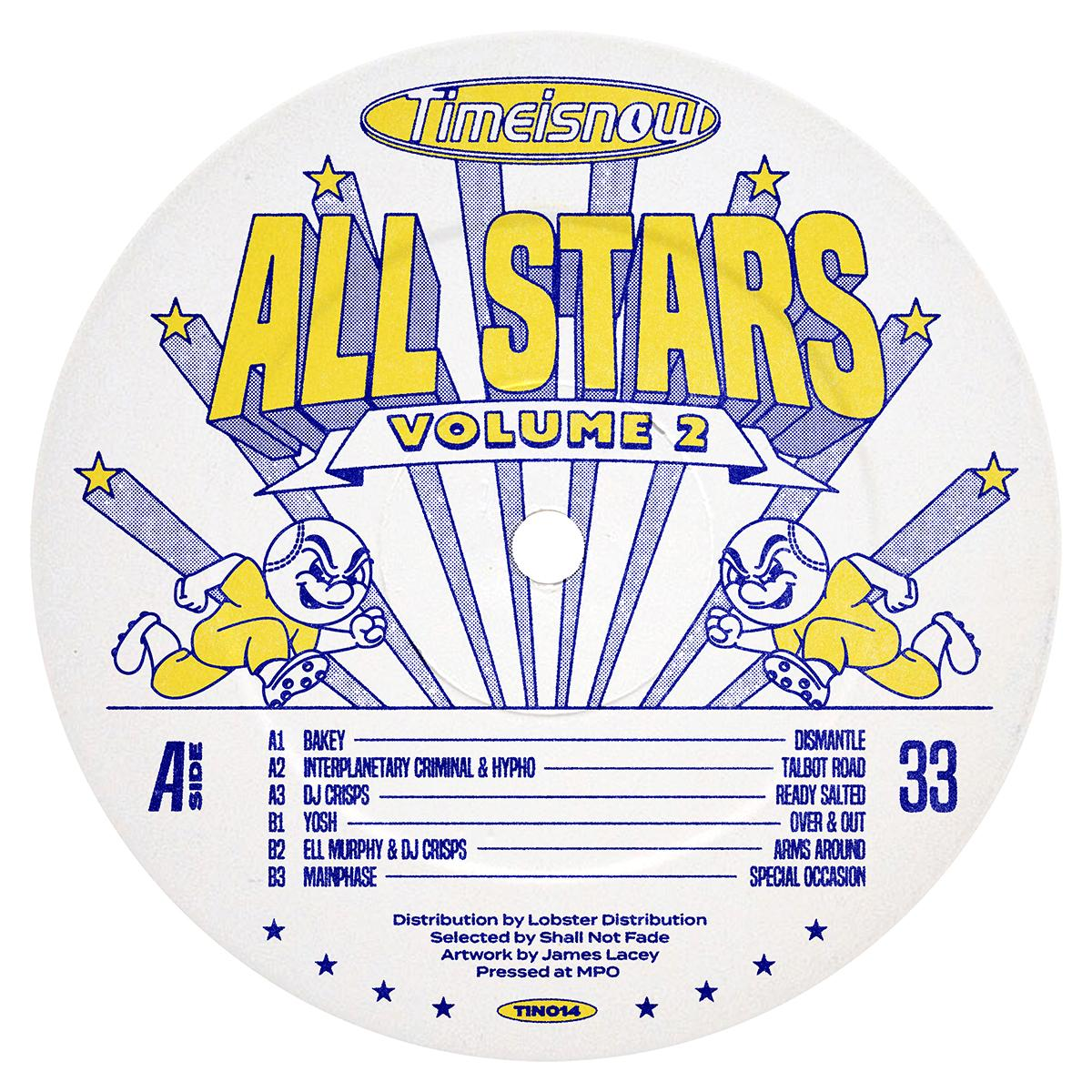 """Various/TIME IS NOW ALLSTARS VOL 2 12"""""""