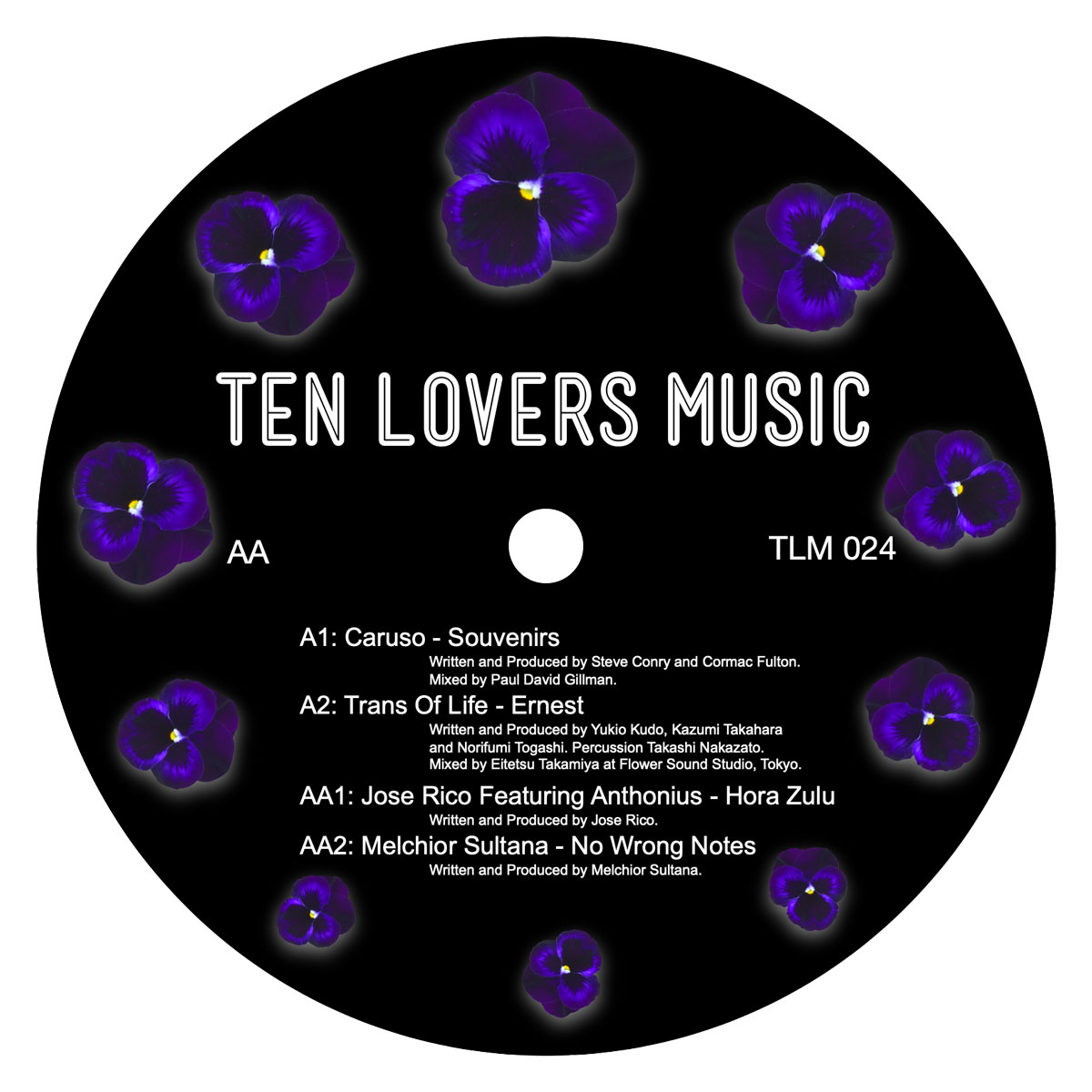 Various/TEN LOVERS MUSIC: TLM024 12""
