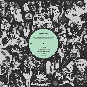"Hardway Bros/SLEAZE EP 12"""