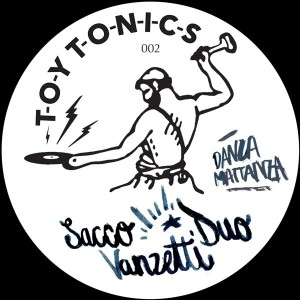 "Sacco Vanzetti Duo/DANZAMATTANZA EP 12"""