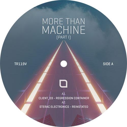 "Various/MORE THAN MACHINE PART 1 12"""