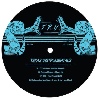 "Various/TEXAS INSTRUMENTALS EP 12"""