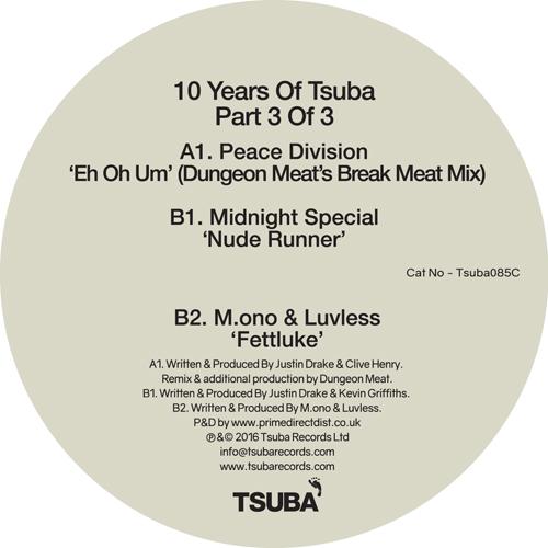 "Various/10 YEARS OF TSUBA PART 3 12"""