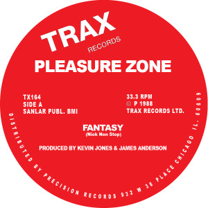 Pleasure Zone/FANTASY 12""