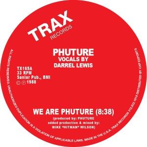 "Phuture/WE ARE THE PHUTURE 12"""