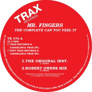 Mr. Fingers/COMPLETE & CAN YOU FEEL 12""