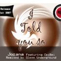 "Jozana/TOLD YOU SO (GU REMIX) 12"""