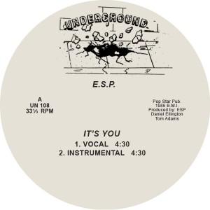 """ESP/IT'S YOU 12"""""""