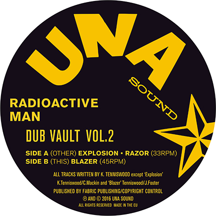 Radioactive Man/DUB VAULT VOL. 2 12""
