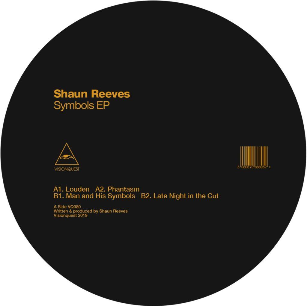 "Shaun Reeves/SYMBOLS EP 12"""