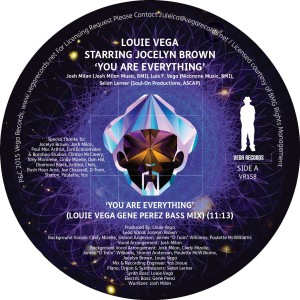 """Louie Vega/YOU ARE EVERYTHING 12"""""""