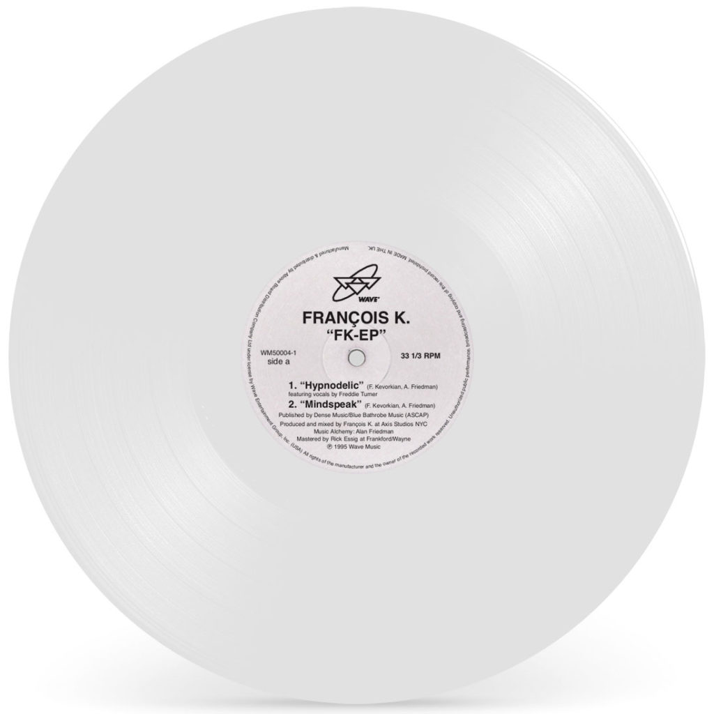 """Francois K/FK-EP (WHITE VINYL) 12"""""""