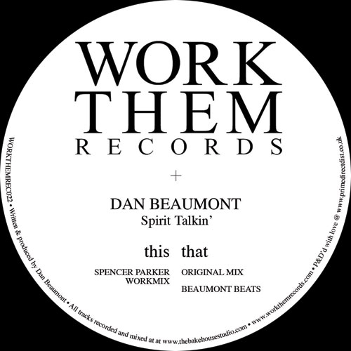 "Dan Beaumont/SPIRIT TALKIN' 12"""