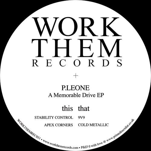 """P.Leone/A MEMORABLE DRIVE EP 12"""""""