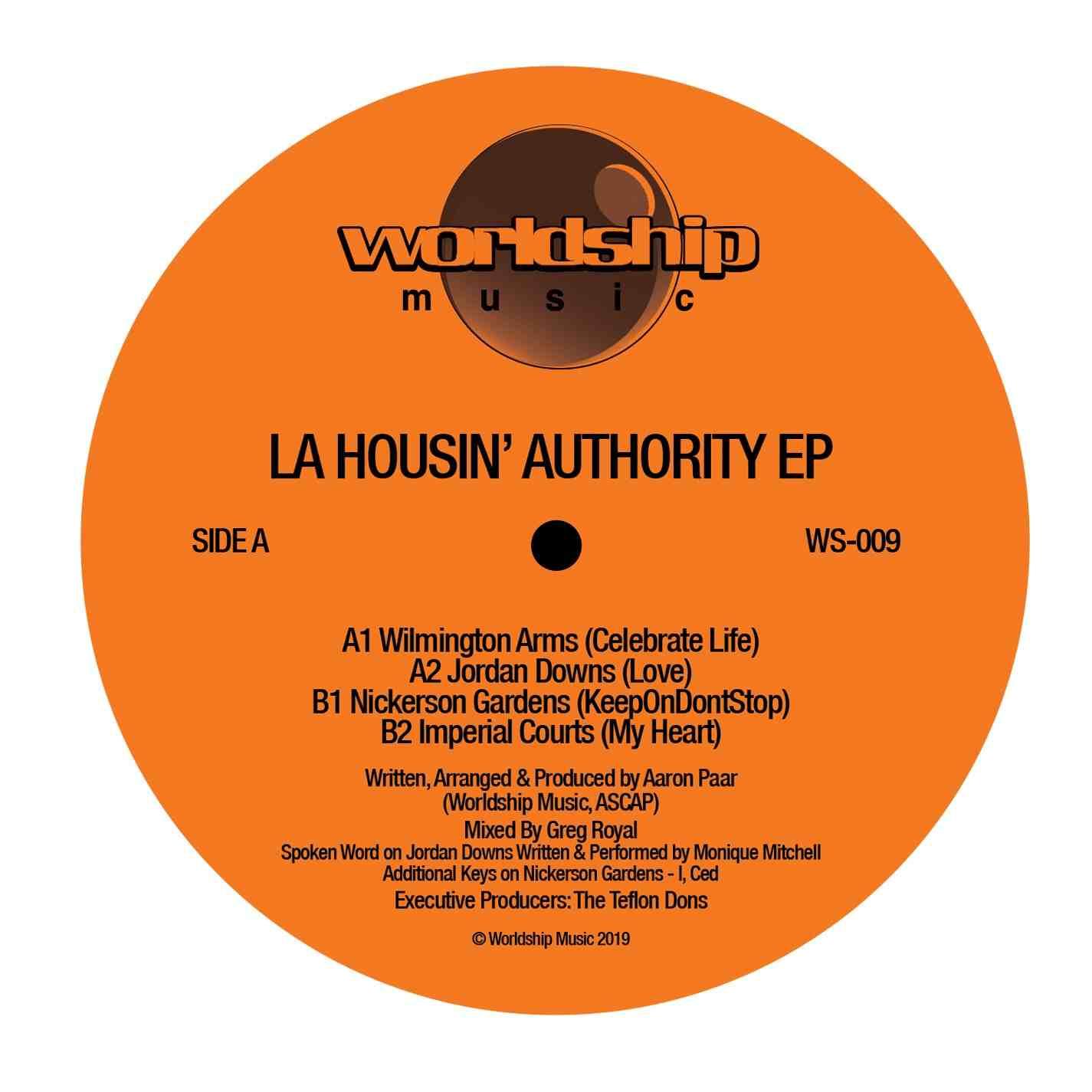 "LA Housin' Authority/SELF-TITLED EP 12"""