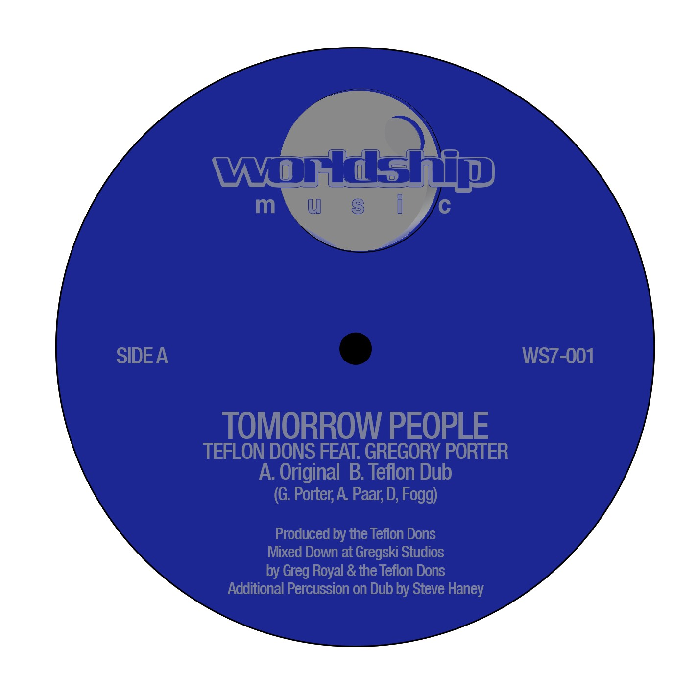 "Teflon Dons/TOMORROW PEOPLE (REPRESS) 7"""